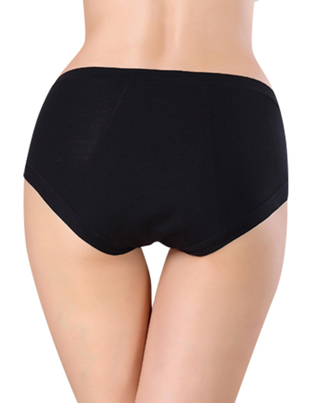 Extravagant Black Bamboo Physiological Briefs Superior Comfort