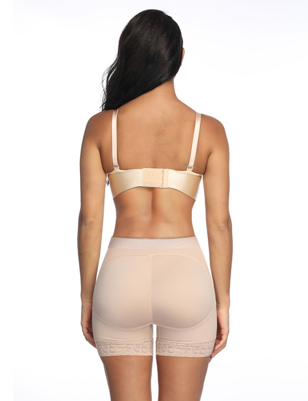 Nude Big Size Shapewear Bum Lifter No Curling Midsection Compression