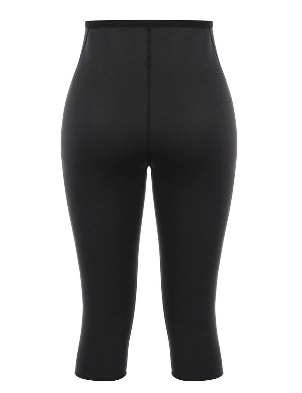 Black Neoprene High Waisted Tummy Control Pants Lose Weight