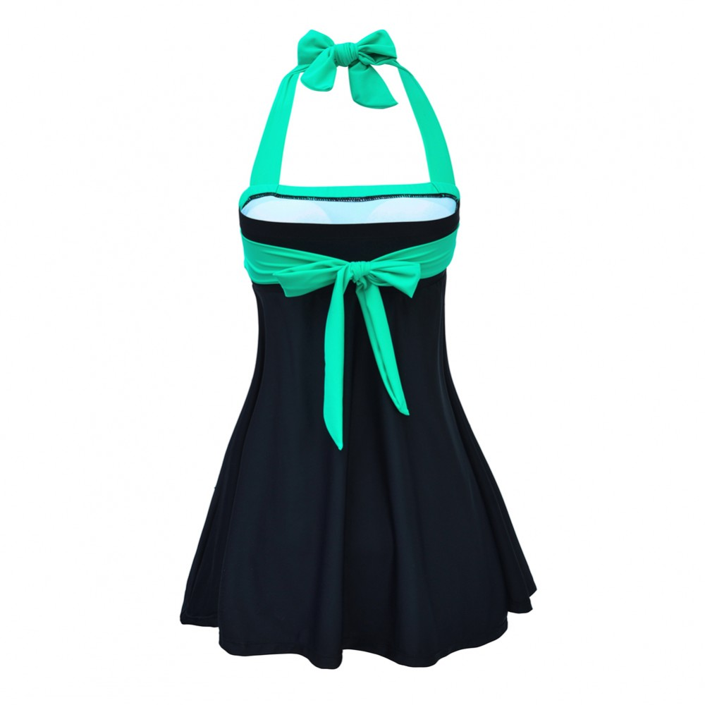 Exclusive Attached Underwear Full Size Bathing Suits Treading Water