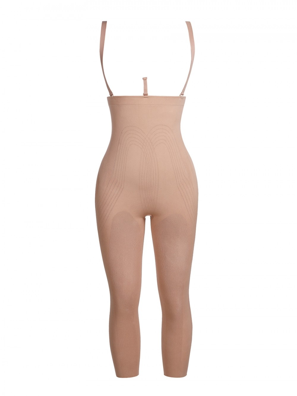Nude Seamless Adjustable Straps Full Body Shaper Shaping Comfort