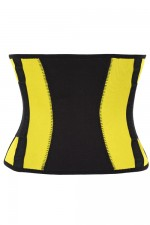 Exercise Classic Yellow Waist Trimmer Belt Compression