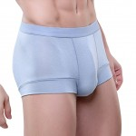 Grey Attraction Men's Smooth Support Male Boxer Shorts Brief