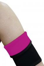 Rose Red Neoprene Supportive Armbands Arm Slimmer Reducing