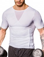 White Strengthen Abdomen Shapewear Male Crossover Supper Fashion