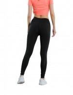 Favorite Black High Waist Yoga Leggings With Pocket Exercise
