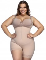 Nude Boyleg Body Shaper Adjustable Straps Close Fitting