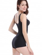 Slim Waist Black Caffeine Plus Bodysuits Hip Enhancer Ultimate Stretch