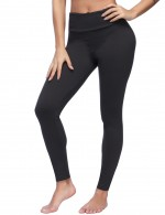 Warmup Dark Grey Full Length Brushed Tights Hidden Pocket Trend For Women