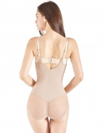 Post Surgery Nude Adjustable Patchwork Body Shaper Lift Buttock Fitted Curve