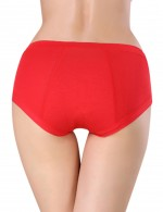 Sweet Red Bamboo Uterus Warming Briefs For Woman