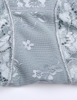 Medium Control Grey Plus Size Seamless Butt Enhancer Panty Floral Best Tummy