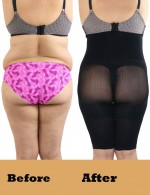 Remarkable Black Queen Size Thigh Slimmer Mesh Shorts High Waist Superfit