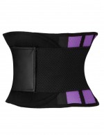 Waist Purple Short Rubber Belt Waist Trimmer Plus Blood Circulation Boosting