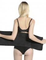 Natural Black Neoprene Queen Size Waist Shaper Double Strengthen Super Trendy