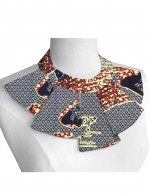 Dressy False Collar Necklace African Printing Classic Fashion