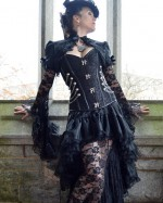 Chain Women Steampunk Corset
