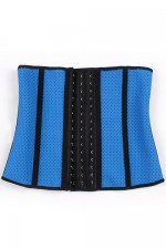 Breathable 3 Rows Hooks Hollow Out Waist Cincher Hourglass Figure