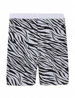 Glam Zebra Print Pocket Side Nightwear Set Male Fashion Online