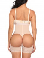Functional Nude Strengthen 3 Layers Buttless Plus Size Body Shaper Tummy Control