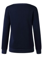 Glorious Blue Sweatshirt Crew Neck Full Sleeve Fashion Tee