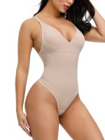 Skin Color High Elastic Mesh Panty Shapewear Plus Size Slimming Waist