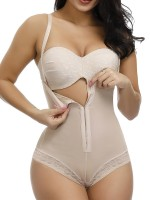 Curvy Skin Flat Tummy Plus Size Adjustable Straps Shapewear Control Midsection