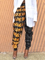 Astonishing Ankle Length African Pattern Pants Pocket Newest Fashion