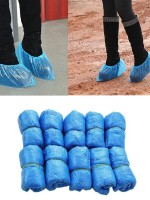 100 Pieces Disposable Shoe Covers Anti Dirty