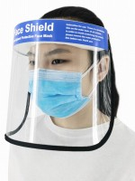 Transparent Anti-Splash Face Protection Mask