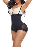Defining Moment Black Seamless Panty Shapewear Solid Color Contouring Sensation