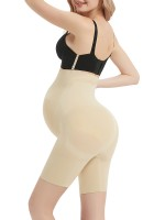 Moderate Control Skin Color Large Size Postpartum Shaper Buckles