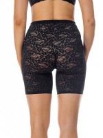 Black Lace Shorts Shper High-Waist Thigh Slimmer