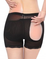 Women's Removable Sillicone Padded Butt Lifter Hip Enhancer Shaper Panties