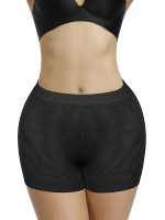 High Power Black High Waist Hip Enhancer Shaper Pants
