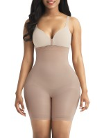 Elastic Complexion High Waist Shapewear Shorts Seamless Workout