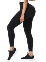 Black Seamless High Waist Pant Shaper Cellulite Reducing