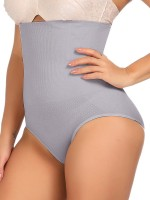 Spotlight Gray Sheer Mesh High Rise Panty Shaper Potential Reduction