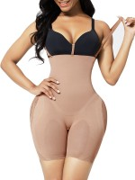 Skin Color Body Shaper Seamless Mesh Adjustable Strap High Power