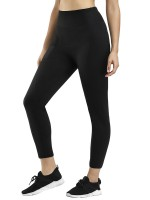 Compression Black Mesh Patchwork Pocket Neoprene Shaper Pants