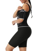 Light Gray Reflective Neoprene Arm Shapers With Pocket Natural Shaping