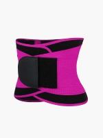 Rose Red Adjustable Neoprene Waist Shaper Belt Custom Logo