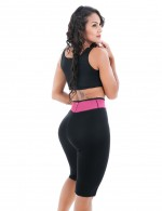 Firm Control Plus Size High Waist Capri Body Shapers 2 Piece