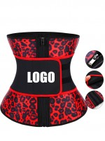 Custome Logo Zip Latex 7 Steel Boned Waist Trainer Queen Size Lose Weight
