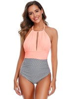 Airy Orange Family Beachwear Open Back Free Wire Going Out Outfits