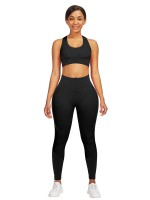 High Waist Cross Backless Yoga Suit Workout Activewear