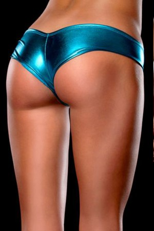 Shiny Low Waist Women Underwear Panty