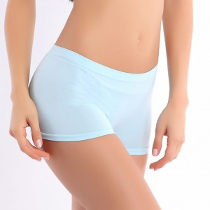 Light Blue Elastic Women Panty