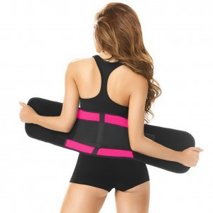Distinctive Pink Plus Size 4 Bones Waist Girdle
