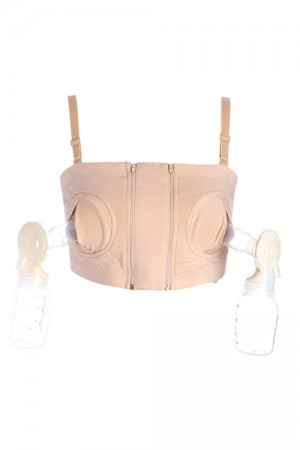 Removable Straps Handsfree Breast Pump Bra